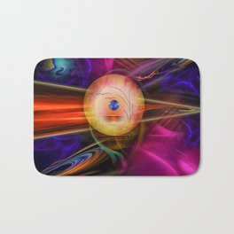 Abstract in perfection -Meditation Bath Mat