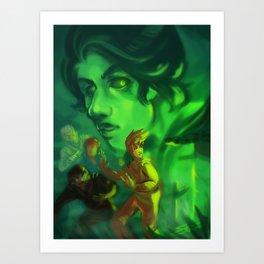 Ninjago - Ghosts Art Print