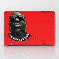 biggie smalls iPad Cases featuring BIGGIE by amanda balboa