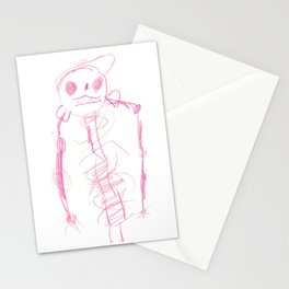 Skeleton with a Hat Stationery Cards