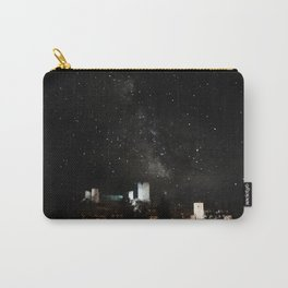 Roman castle under milky way Carry-All Pouch