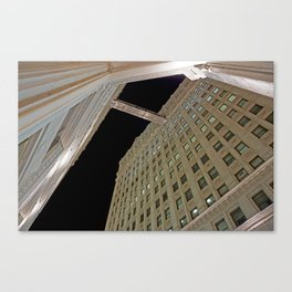 ARCH ABSTRACT 1: Wrigley Building, Chicago Canvas Print