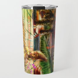 Utopia is indeed a state of mind. Travel Mug