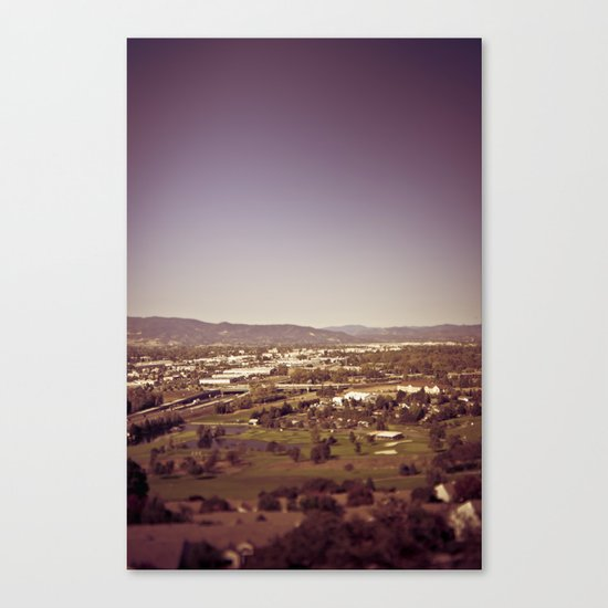 medford oregon Canvas Print