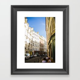 Montmartre series 4 Framed Art Print