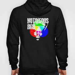 Funny Graphic Design Unisex Shirt Notorious RGB Hoody