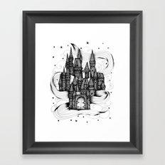 Super Magic Dream Castle Framed Art Print
