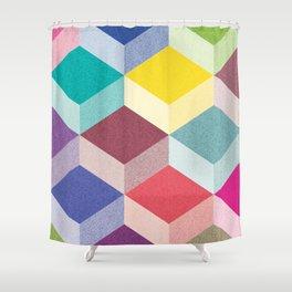 Cubism Shower Curtain