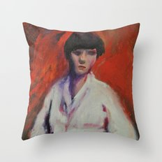 Second Impression Throw Pillow