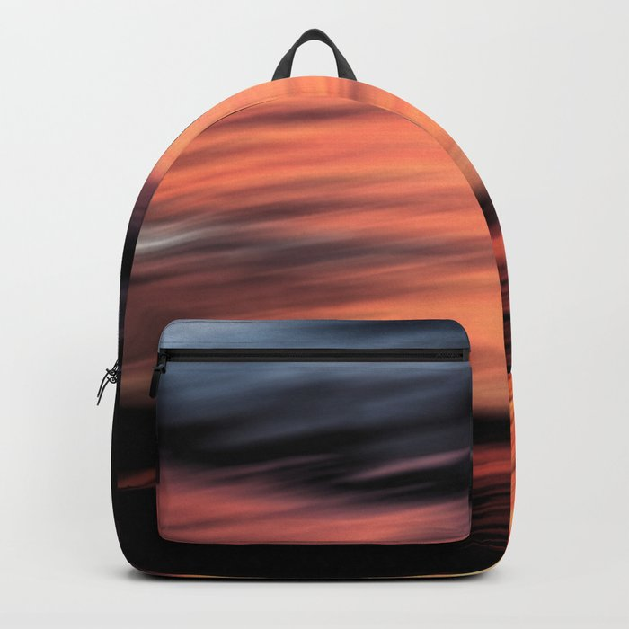 Sunset . Abstraction . Backpack