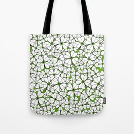 Line art - Clover : Green Tote Bag