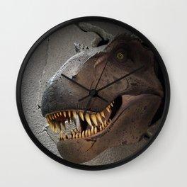 Dinosaur crush Wall Clock
