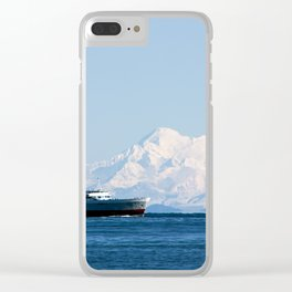 Coho and the mountain Clear iPhone Case