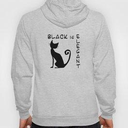 black is elegant Hoody