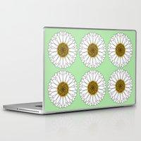 daisy Laptop & iPad Skins featuring Daisy by Lorelei Douglas