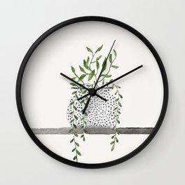 Vase 2 Wall Clock