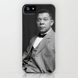 Booker T. Washington by Francis Benjamin Johnston, c. 1895 iPhone Case