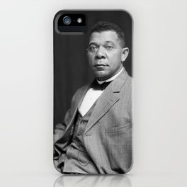 Booker T. Washington by Francis Benjamin Johnston, c. 1895 iPhone Case