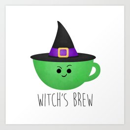 Witch's Brew Art Print