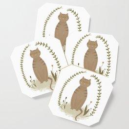 Nature Cat Coaster