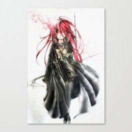 Targeted Shana Canvas Print