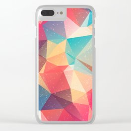 Geometric pattern Clear iPhone Case