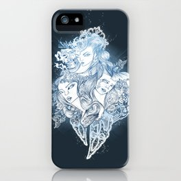 Mermaids iPhone Case