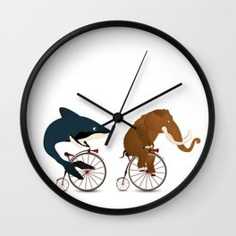 The big race Wall Clock