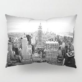 New York City Black & White Pillow Sham