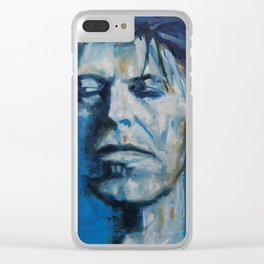 There`s A Starman Waiting in the Sky Clear iPhone Case