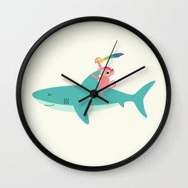 Adventure Begins Wall Clock