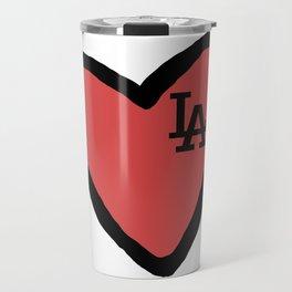 Love LA - Red Travel Mug
