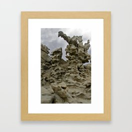Fantasy Canyon Framed Art Print