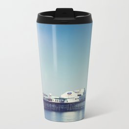 Summer pier Travel Mug