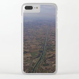 From Up There (Pt 7) Clear iPhone Case