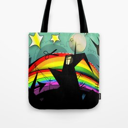 Rainbow Cut Tote Bag