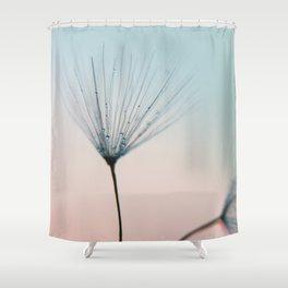 dandelion - sprinkles of love Shower Curtain