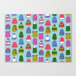 Wooly Hats Canvas Print