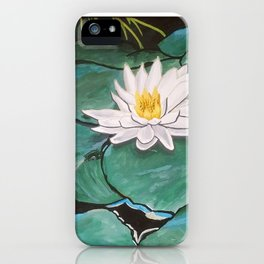 Lily of the Water iPhone Case