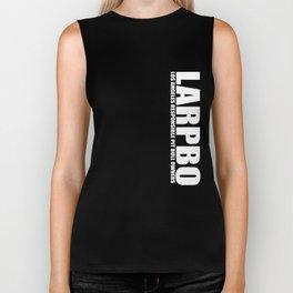 LARPBO Classic White Biker Tank