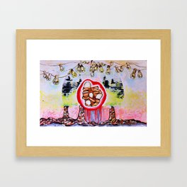 Kinfolk  Framed Art Print