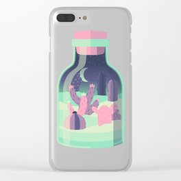 Pocket Desert Clear iPhone Case