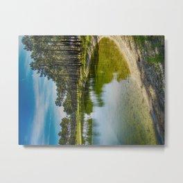 Pure Waters - Colorful Metal Print