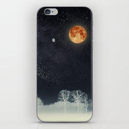 Venus and Moon Night iPhone Skin