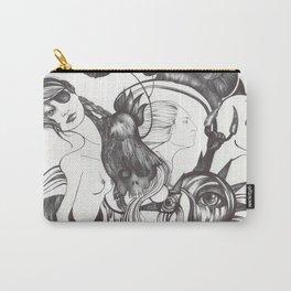 Retrato de Sirena Carry-All Pouch