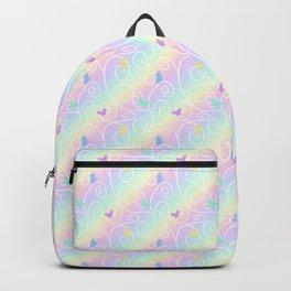 Springtime Butterfly Swirls Backpack