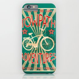 TOWPATH ADVENTURES iPhone Case