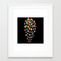 baloon Framed Art Prints featuring Baloon 2 by YsfKara