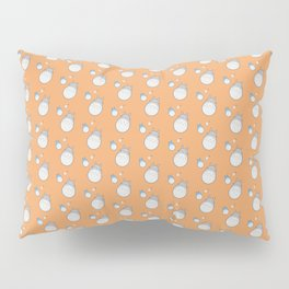 My Neighbor Pattern (Orange) Pillow Sham