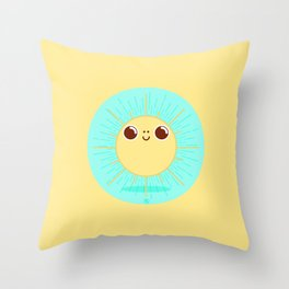 Happy Sun / SunRise Throw Pillow